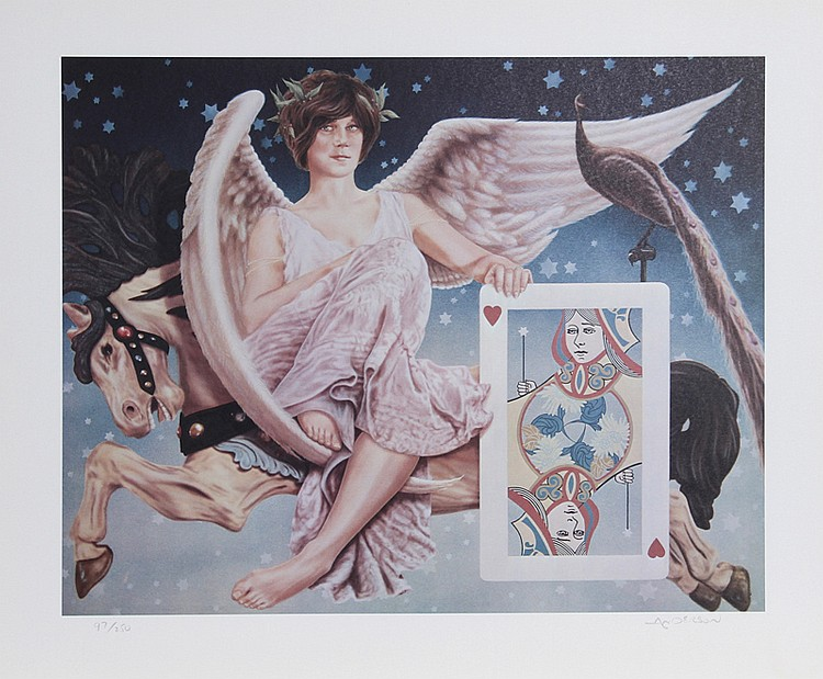 Robert Anderson, Flight of the Heart, Lithograph