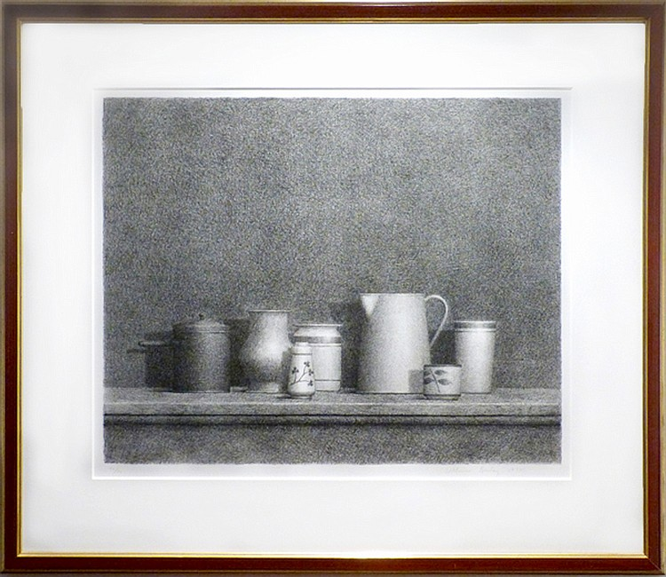 William Bailey, Still Life No. 5, Lithograph