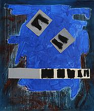 Ann Purcell, Sorcerer, Mixed Media on Canvas