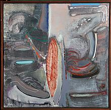 Stephen Greene, Abstract Oil Painting