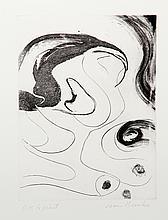 James Brooks, Untitled, Etching