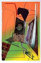 William Schwedler, Dead Give Away, Serigraph