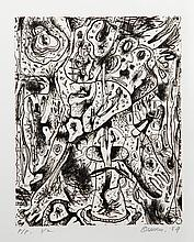 Alfonso Ossorio, Black and White, Etching