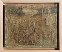 Robert Reid, Sticks and Stones, Oil Painting