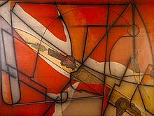 William Schwedler, Polish It Off (Homage to Robert Smithson), Oil Painting