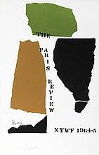 Theodoros Stamos, Paris Review, Silkscreen