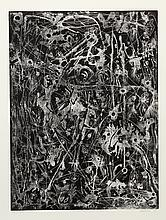 Alfonso Ossorio, Abstract 7, Etching
