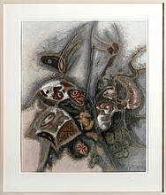 Yotai, Abstract Mixed Media Artwork