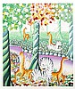 Yannis Amoryanos, Love in Paradise, Serigraph, Yannis  Amoryanos, Click for value