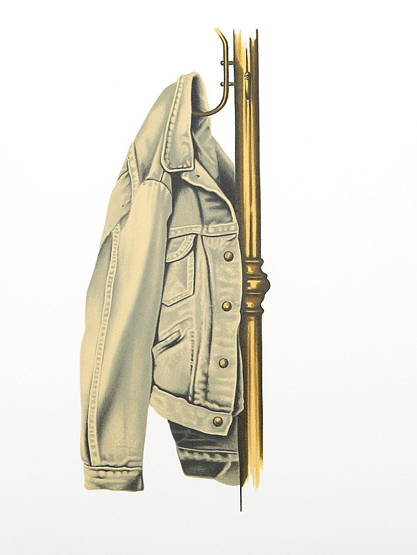 Henry Fonda, Denim Jacket On Coat Rack, Lithograph