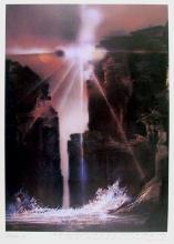 Robert Peak, Sun Canyon (Wilt Chamberlain) from the Spirit of Sports Portfolio, Lithograph