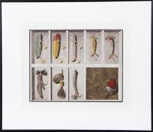 Byron Bratt, The Red Herring, Mezzotint