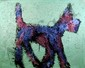 Peter Mayer, Dog Painting 3, Acrylic Painting, Peter Bela Mayer, Click for value