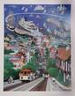 Alexander Chen, Hyde Street Pier, Serigraph, Alexander  Chen, Click for value