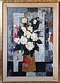 Tony Agostini, Untitled (Floral Bouquet), Oil Painting
