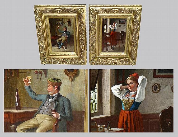 GERARD Lucien - Peintures HSP acajou