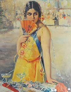CHARLOT Raymond - Peinture HST
