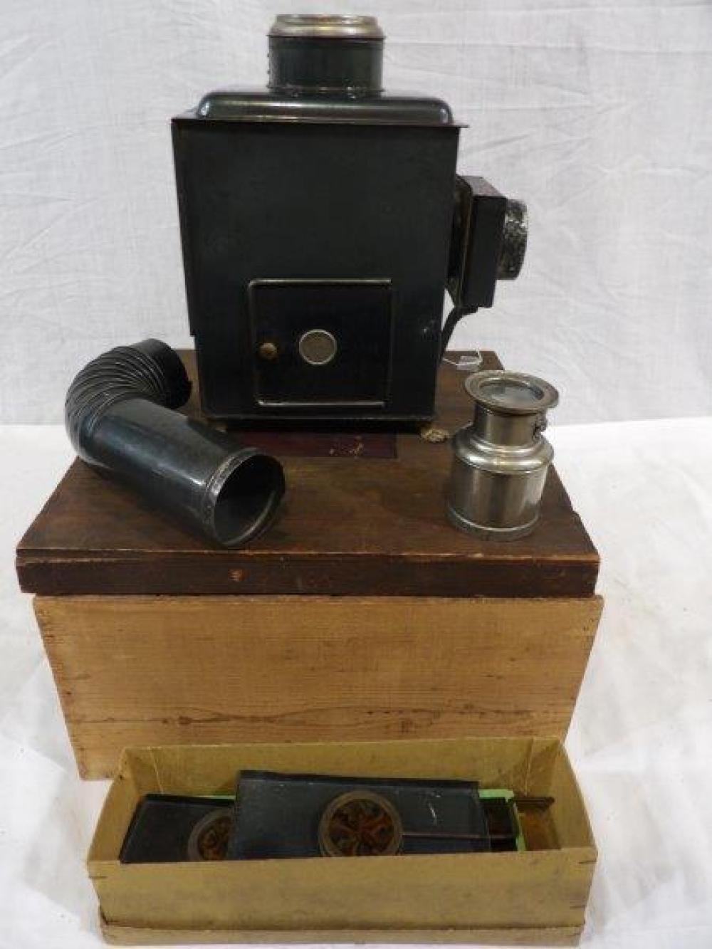 The Exhibition slide projector Lantern