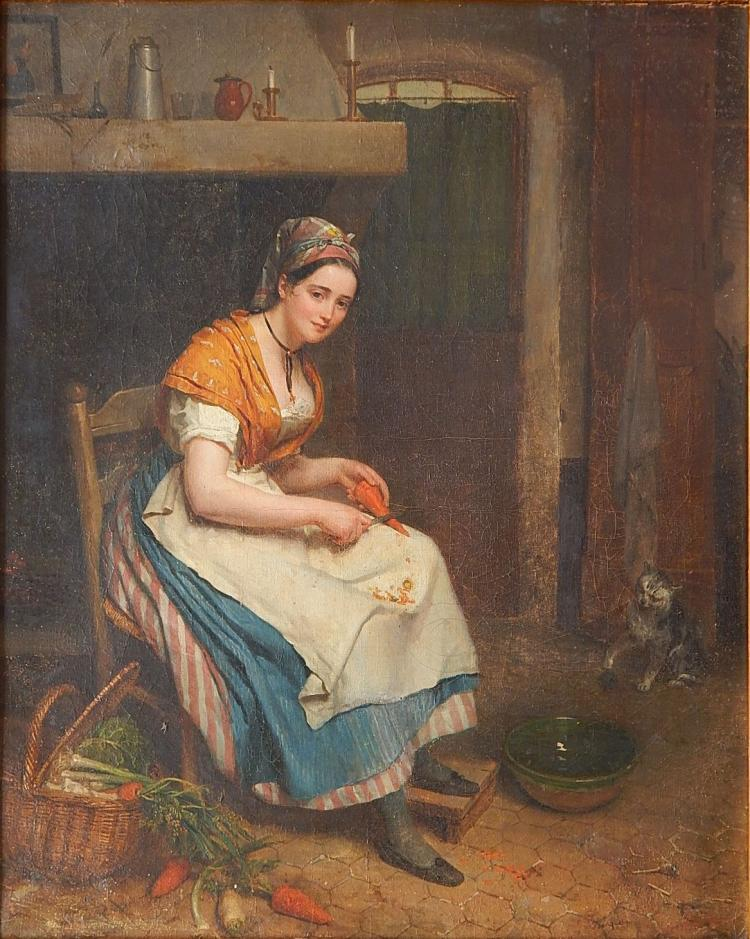 Jan Augustustin Franquelin oil