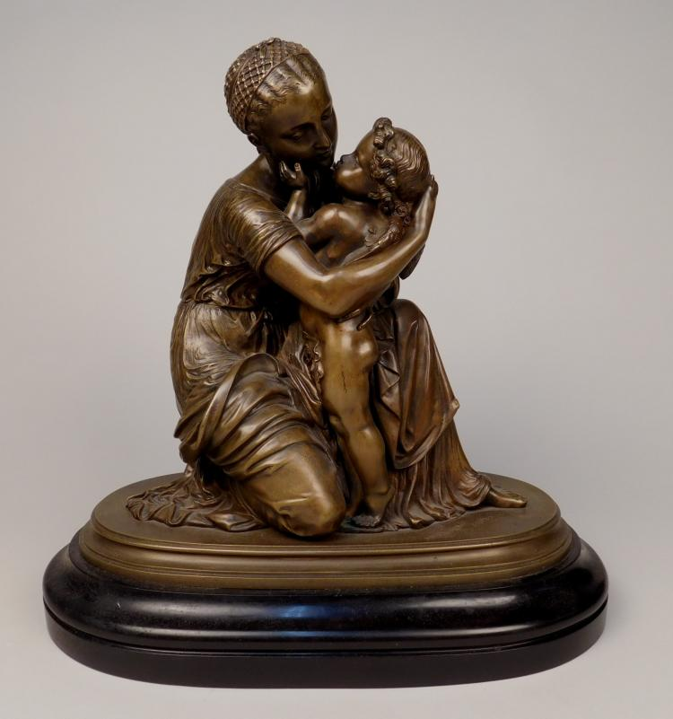 19th c. European School spelter sculpture