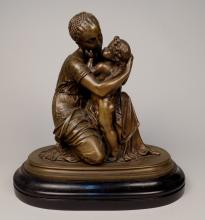 19th c. European School spelter sculpture