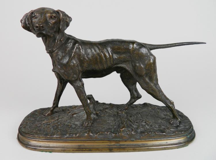 Pierre-Jules Mane bronze sculpture