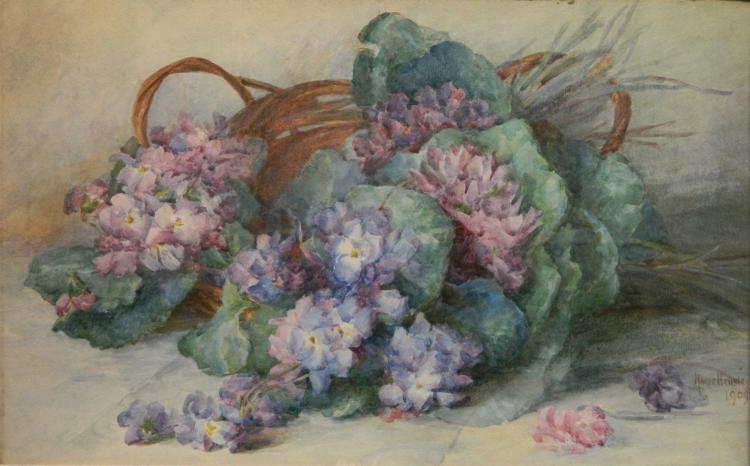Marie Hensley watercolor