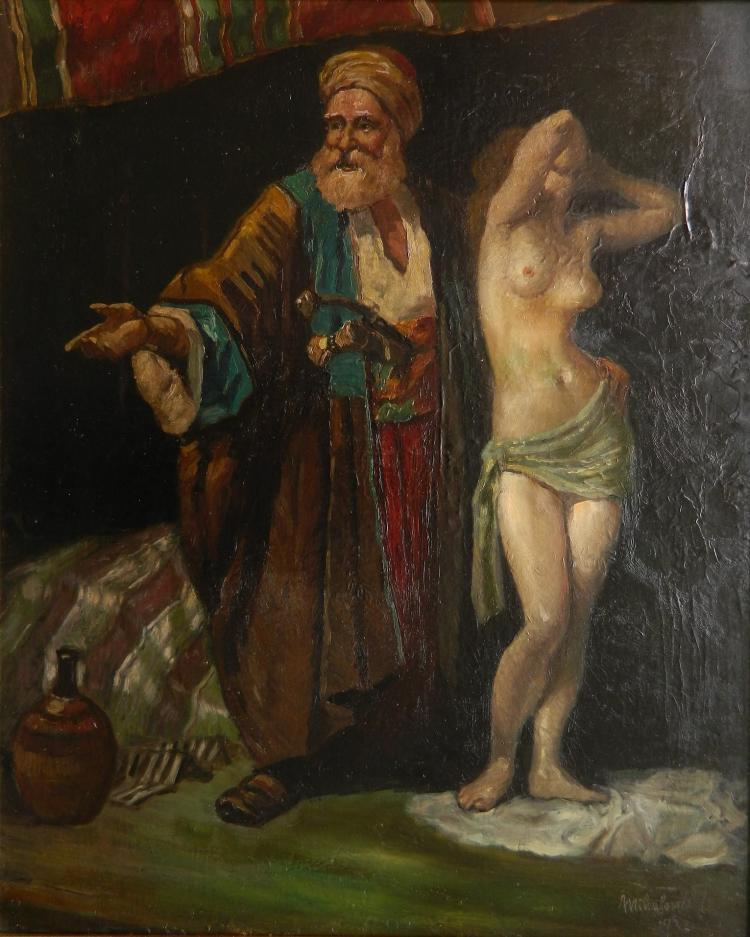 Miklos Mihalovits oil