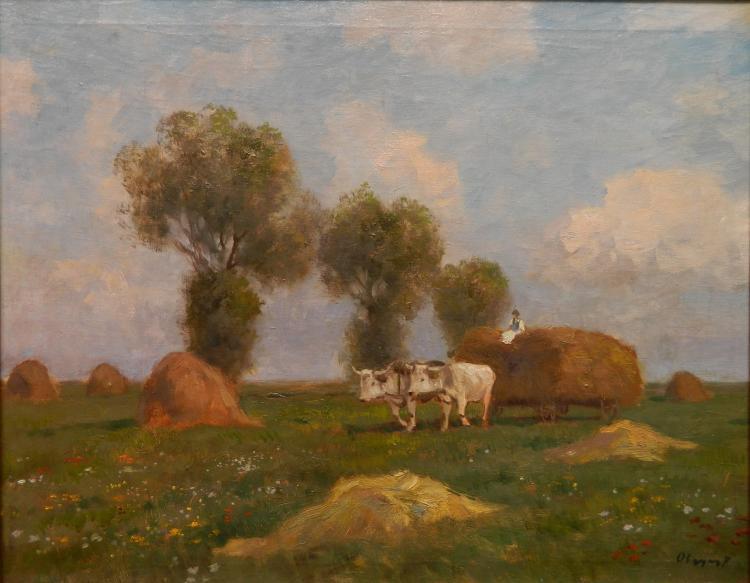 Ferenc Olgyai oil