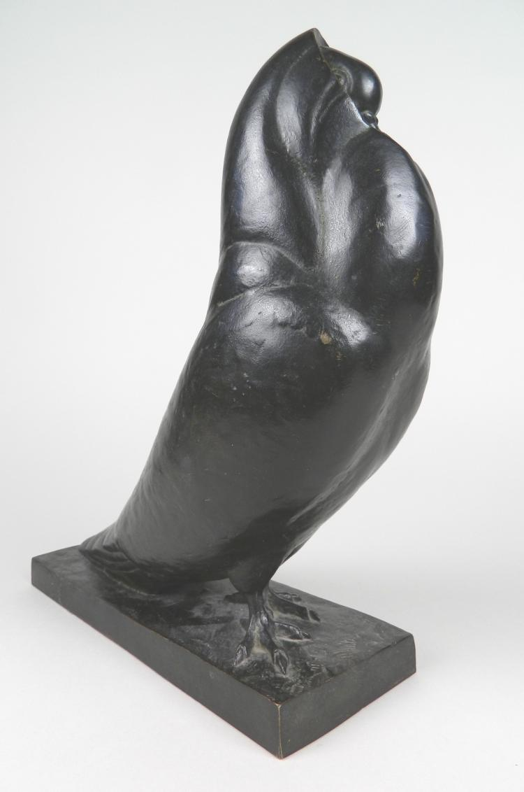 Simone Boutarel bronze sculpture
