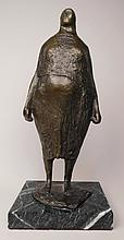 Francisco Zuniga bronze sculpture