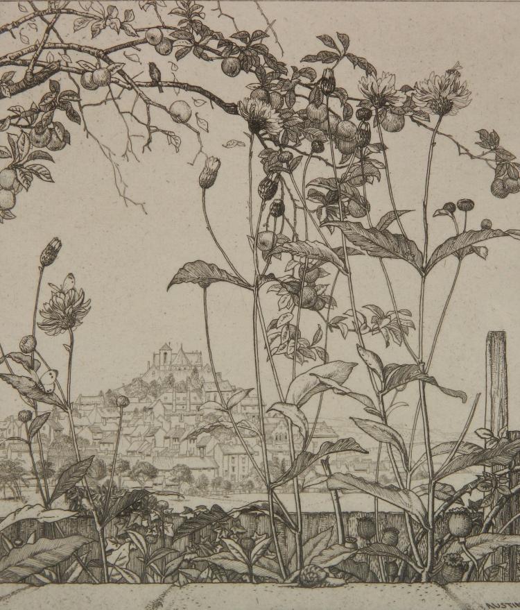 Robert Austin etching