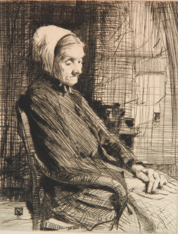 William Lee Hankey etching
