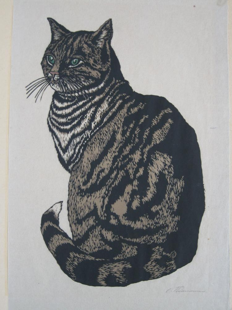 Carl Thiemann woodcut