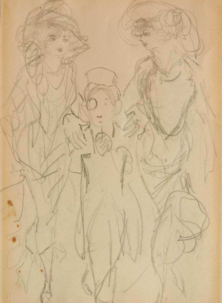 Robert Henri graphite