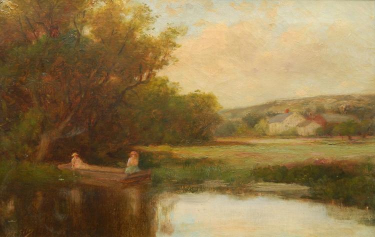 Howard P. Giles oil