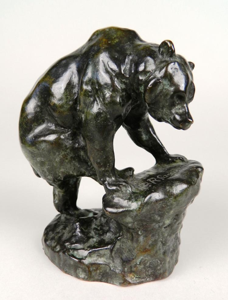 Philip R. Goodwin bronze sculpture