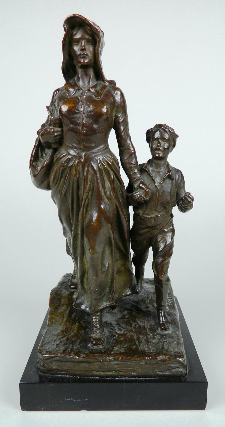 Bryant Baker bronze sculpture