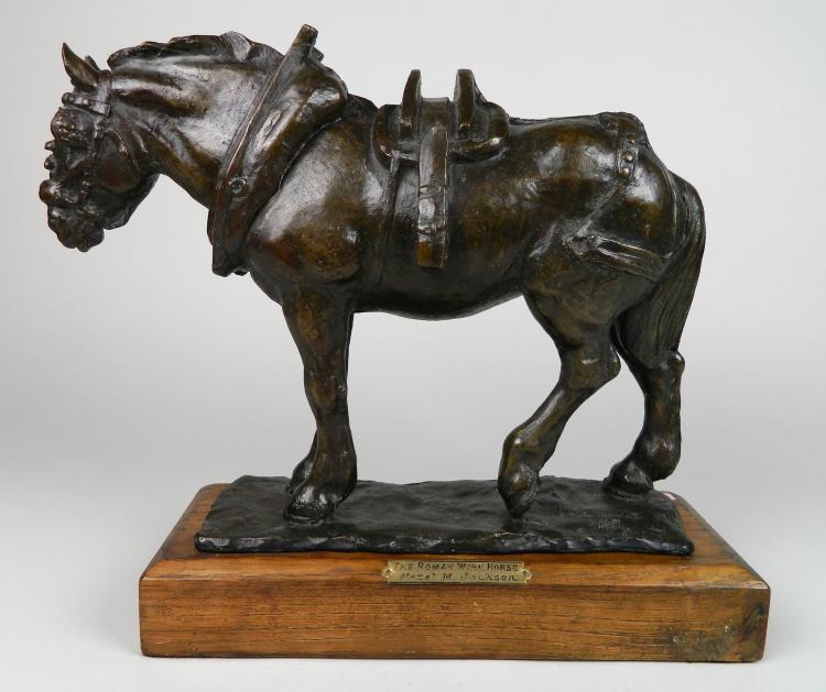 Hazel M. Jackson bronze scultpure