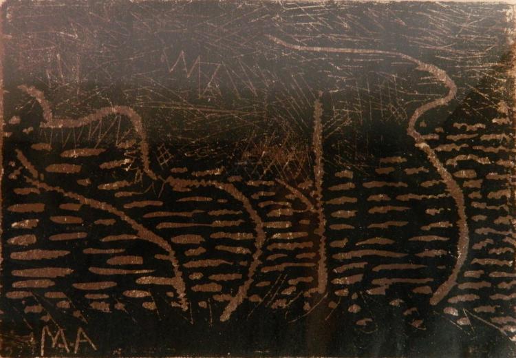 Milton Avery woodcut