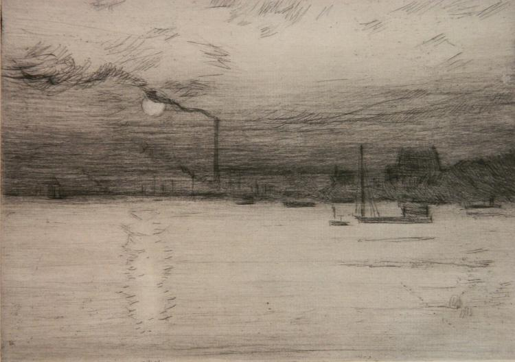 Frederick Childe Hassam etching