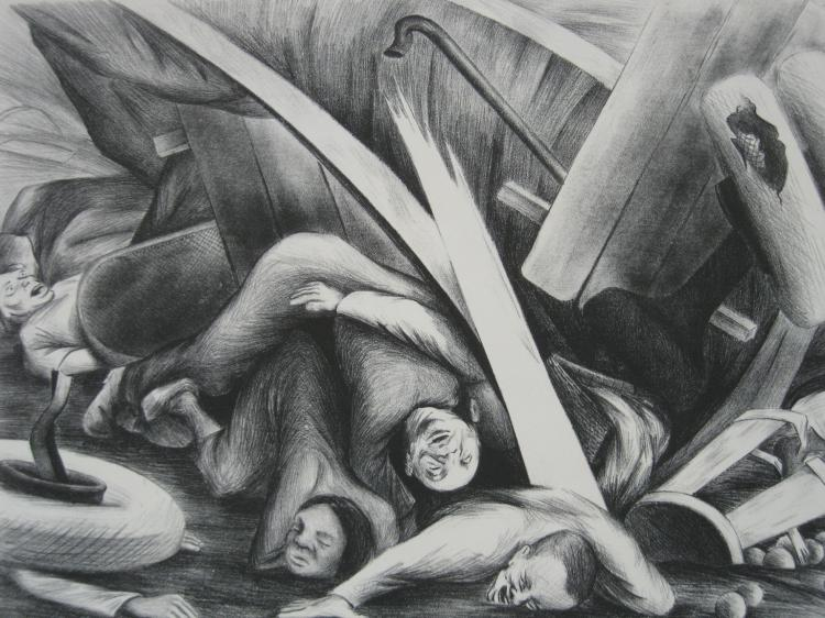 Chet Lamore lithograph