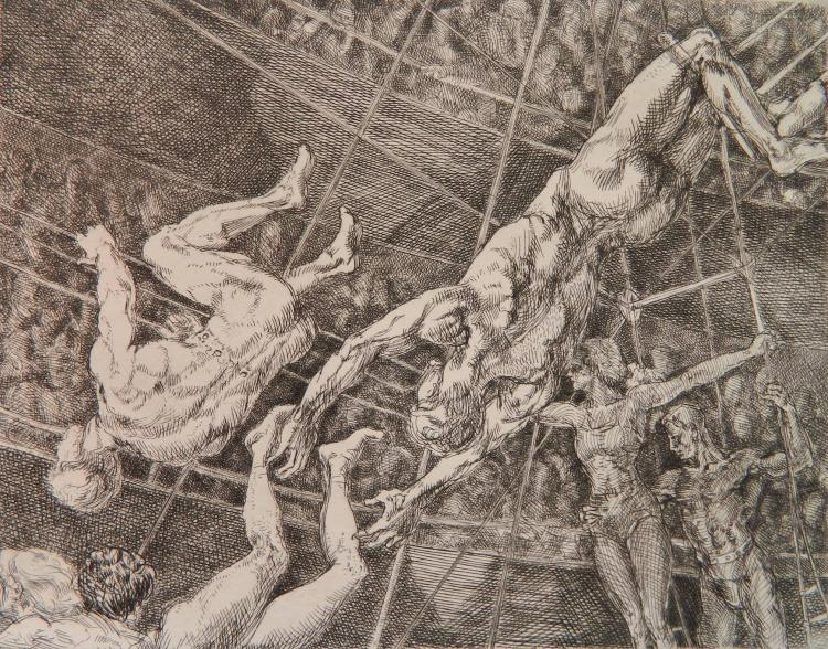 Reginald Marsh etching
