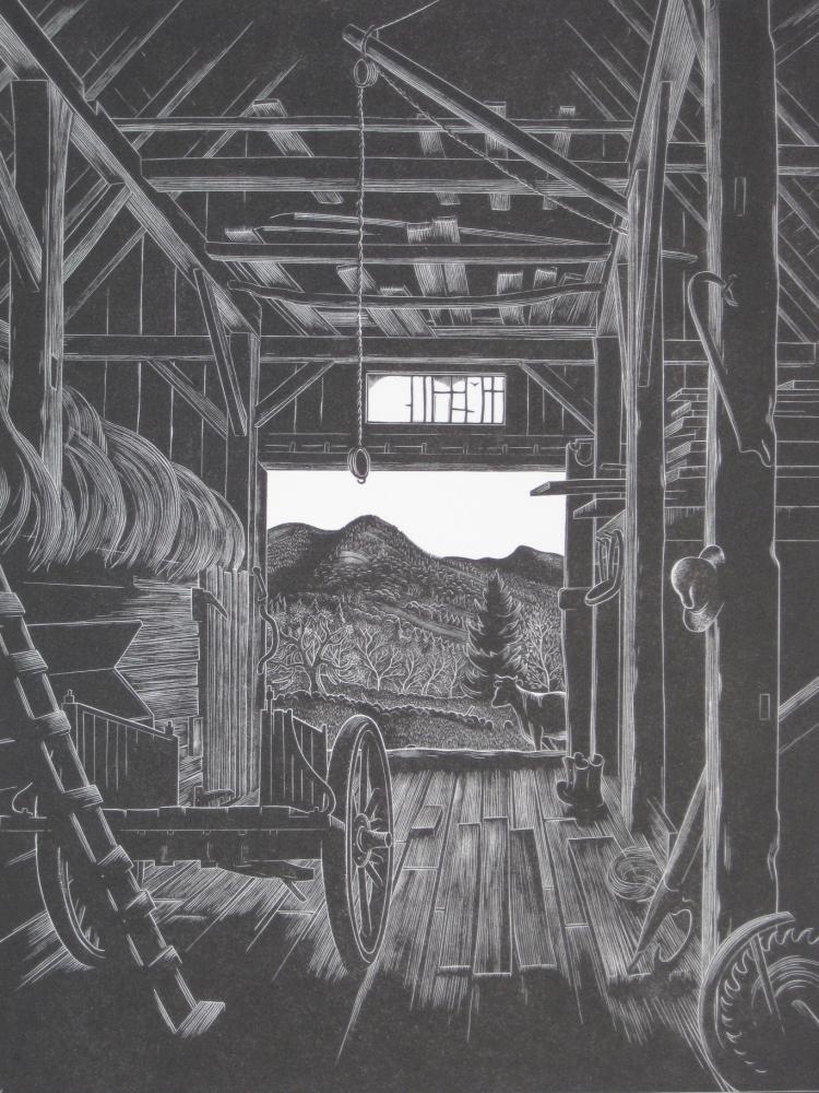 Herbert Waters wood engraving
