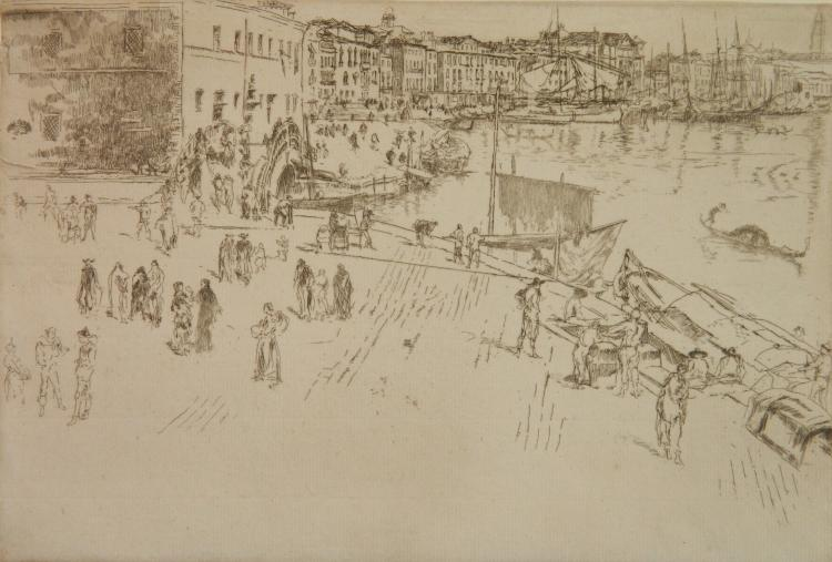 James A. M. Whistler etching