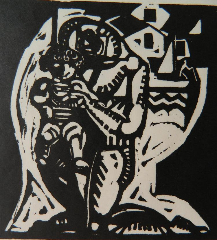 William Zorach woodcut