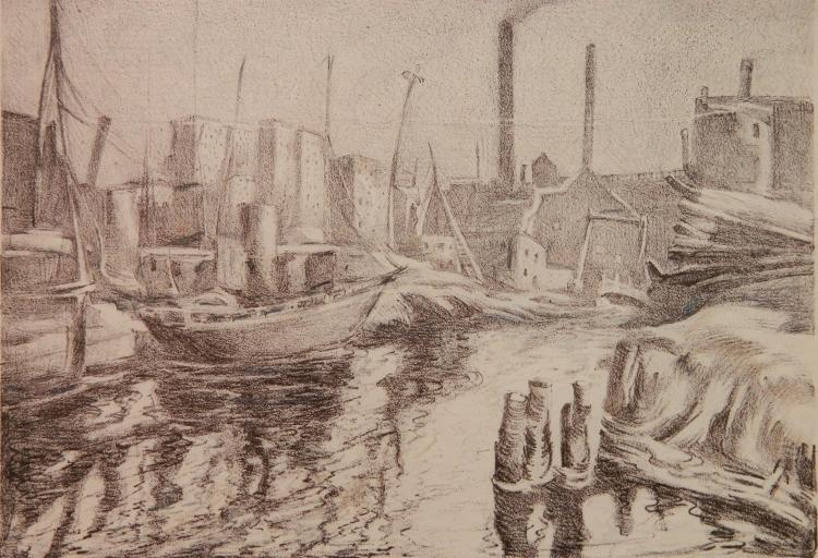 August F. Biehle lithograph