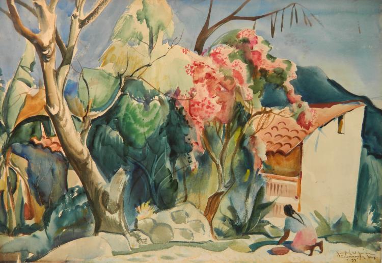 Joseph Jicha watercolor