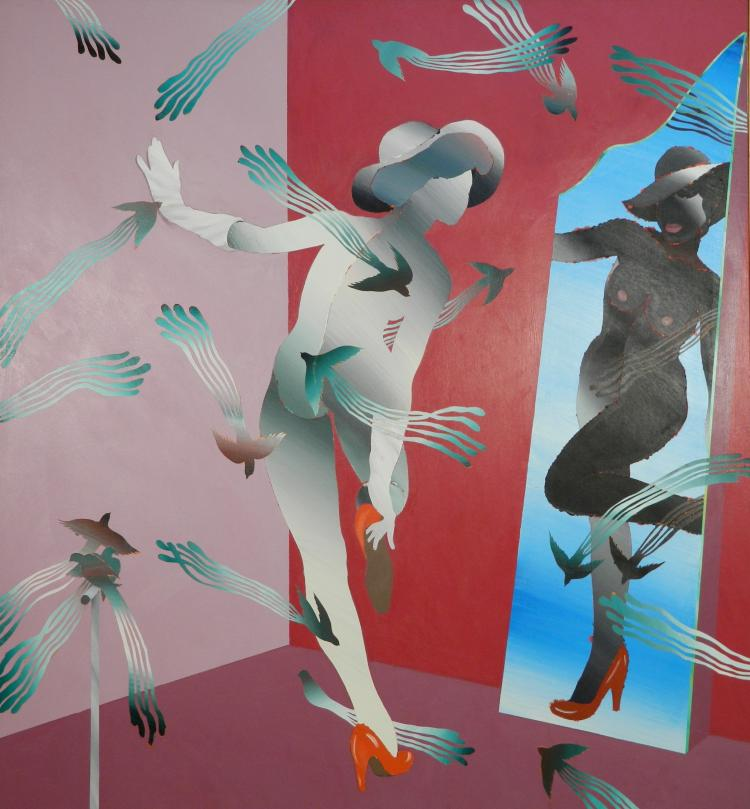 Ken Nevadomi acrylic