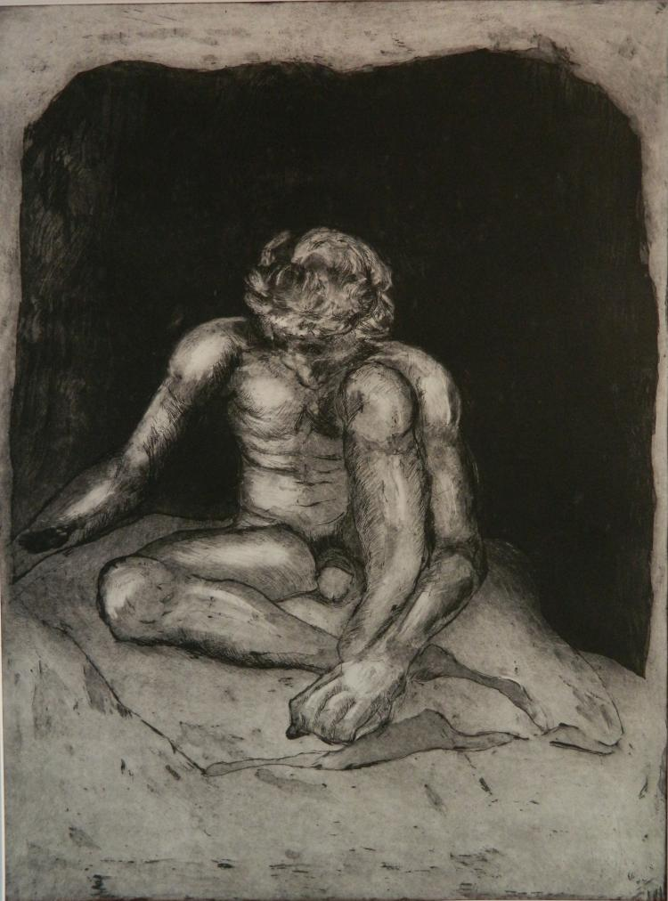 Edward H. (Ted) Frost etching and aquatint